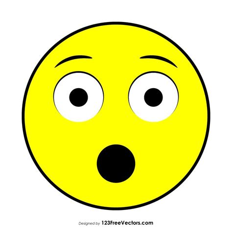 hushed face emoji vector emoji  vector art vector