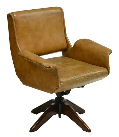 italian mid century modern swivel office chair may