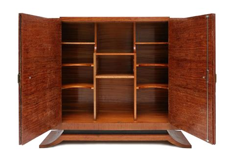 high end storage cabinets high end art deco cabinet at 1stdibs