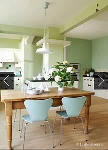 Peinture Little Green Avis : peinture vert d 39 eau une couleur d co pour salon et cuisine ~ Melissatoandfro.com Idées de Décoration