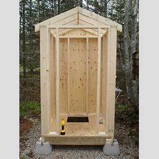 Building An Outhouse  Checkthisshitoutcom Gardening