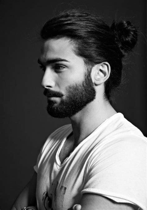samurai hairstyles  men top knot asian man buns
