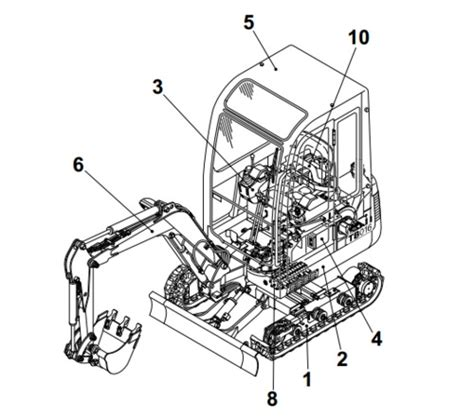 takeuchi tbs compact excavator parts manual  tradebit