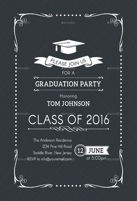 31+ Examples of Graduation Invitation Designs PSD AI