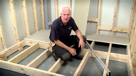 hardiefloor structural interior flooring installation