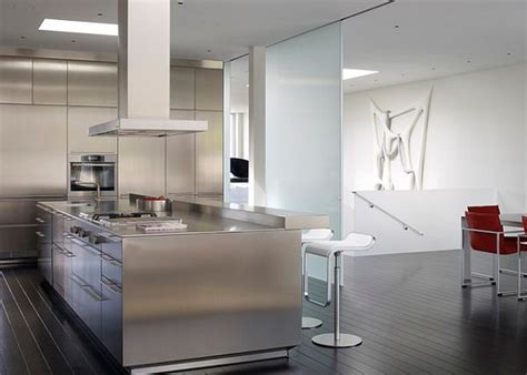 Contemporary Kitchen Furniture by Stainless Steel Kitchen Countertops Are Exquisite And Sturdy