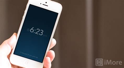 iphone clock rise alarm clock for iphone and review imore