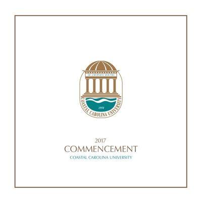 Program of Commencement Exercises at Coastal Carolina ...