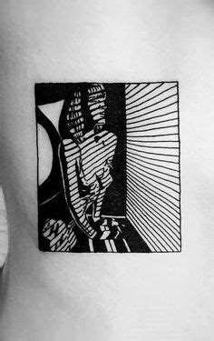24 Best Negative Space Tattoo images   Negative space