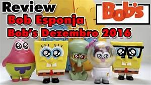 BONECOS do BOB ESPONJA BOB's Dezembro 2016 Brindes Toy ...