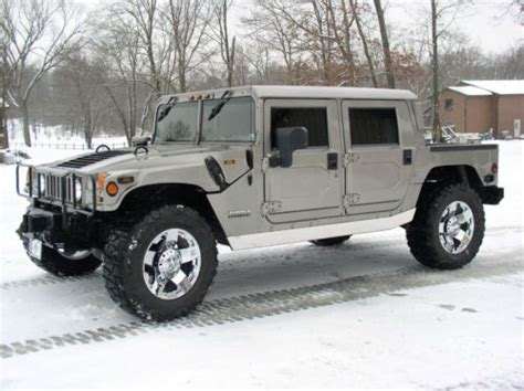 automobile air conditioning service 2000 hummer h1 on board diagnostic system purchase used 2000 hummer h1 rare pewter black interior chrome rockstars in butler