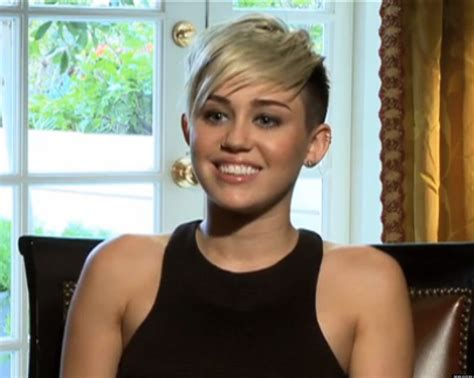 Miley Cyrus' Short Hair Is Here To Stay