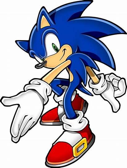 Sonic Hedgehog Dvd Render Characters Clipart Asset