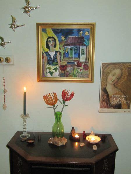 home altars create   sacred space