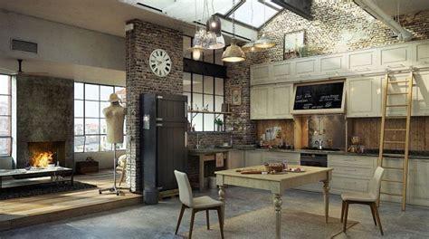 cuisine deco industrielle 30 exemples de décoration de cuisines au style industriel