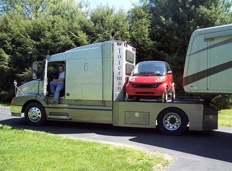 awesome towing solution  toterman truckmotorhome towing