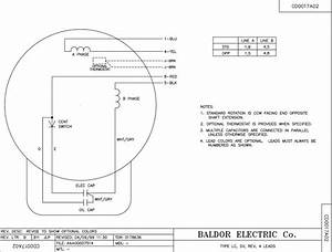 Wiring Diagram For Baldor Electric Motor
