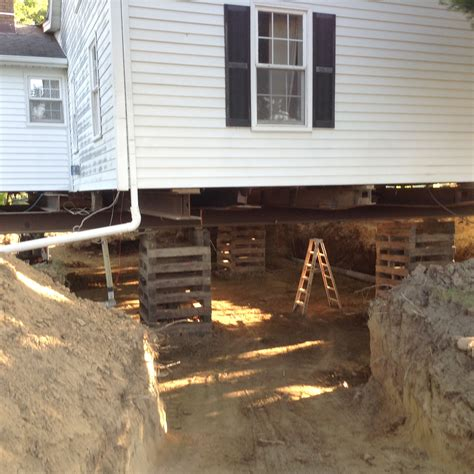 build   basement   existing house klier structural movers