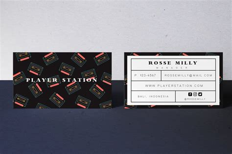 player station business card  maghrib   images