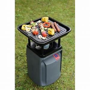 Bouteille De Gaz Pour Barbecue : barbecue nomade fonte acier noir barbecues la ~ Dailycaller-alerts.com Idées de Décoration