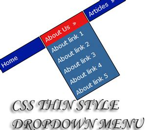 Left Side Menu Free Css Template Easy Css Menu And 73 More Css Thin Style Dropdown Menu For Tips
