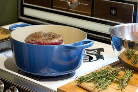le creuset le creuset blue oven didriks flickr