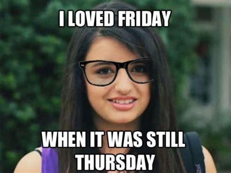 Rebecca Black Friday Meme - brookelynndesign