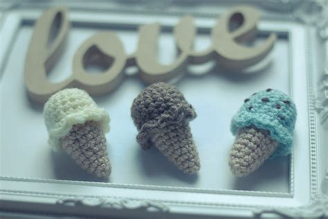 crochet ice cream     ice cream plushie