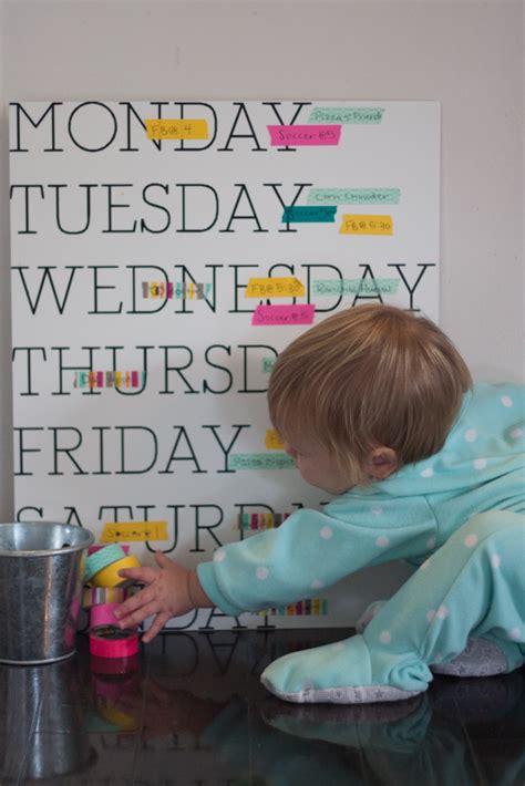 Days of the Week Wall Calendar - Project Nursery