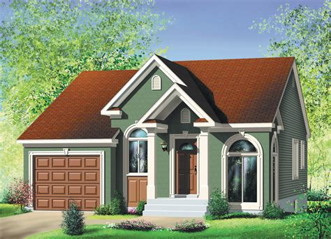 compact  bedroom ranch pm architectural designs house plans