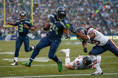 seahawks dominate chicago bears    win