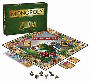 Amazon Com  Monopoly  The Legend Of Zelda Collector U0026 39 S