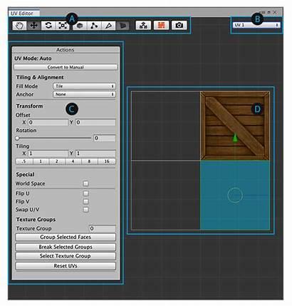 Uv Editor Probuilder Unity Unity3d Window Manager