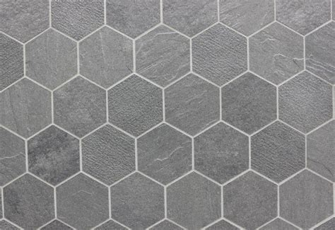 gray hex tile gray hex tiles for the kitchen pinterest hexagons shower floor and search