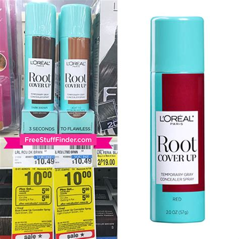 L Oreal Root Cover Up Where To Buy by Hot Free L Oreal Root Cover Up At Cvs