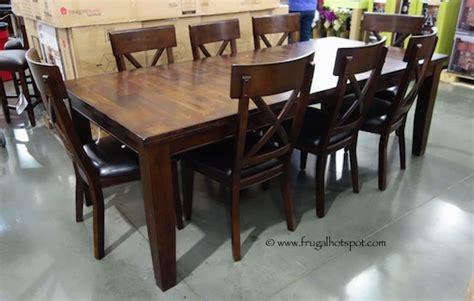 Excellent Stone Costco Regarding Furniture Dining Set
