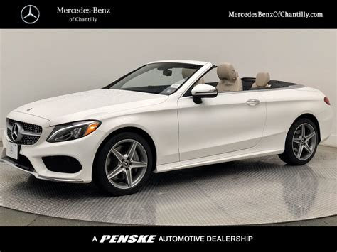 Sedan, coupe and convertible (cabriolet). Certified Pre-Owned 2017 Mercedes-Benz C-Class C 300 Sport CABRIOLET in Chantilly #UMC4413 ...