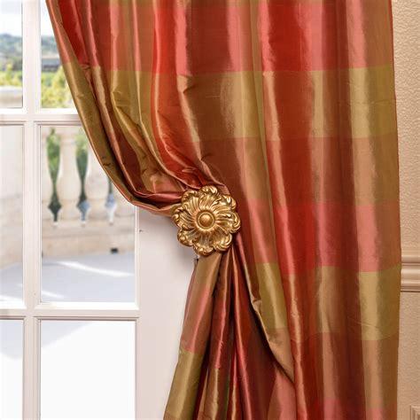 Plaid Curtains And Drapes - get derby silk plaid curtains and drapes