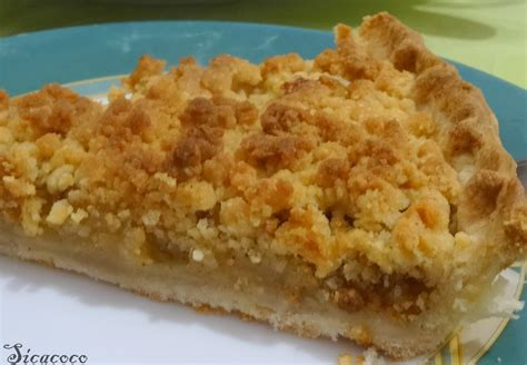 cuisine cannelle tarte aux pommes facon crumble les carnets de sicacoco