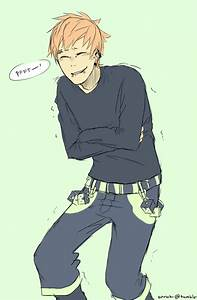 Noiz - he is such a dork >w
