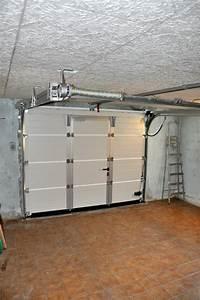 Porte De Garage Sectionnelle Sur Mesure : porte de garage sectionnelle manuelle ou motoris e ~ Dailycaller-alerts.com Idées de Décoration