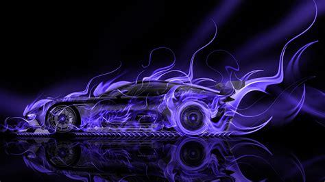 Blue Neon Wallpaper Blue Lightning Lamborghini by Aston Martin Vulcan Side Car 2015 El Tony