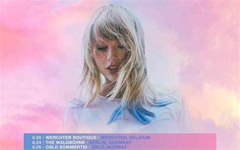 taylor swift unveils  lover   festival