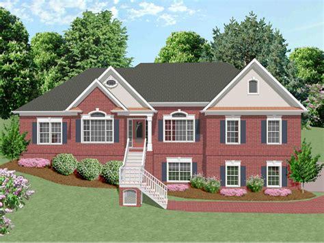multi level homes multi level house plans house plans