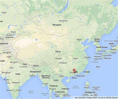 guangzhou  world map  travel information