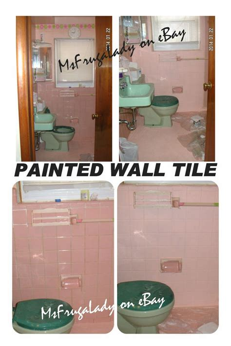 Fliesenlack Pink by Diy Paint Bathroom Tile Wall Floor After A