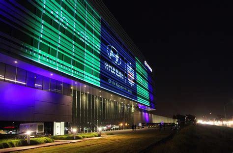 hyundai  headquarters lights   mark  nfl