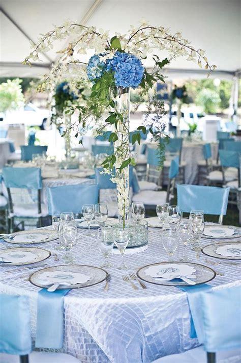 blue wedding centerpieces ideas  pinterest