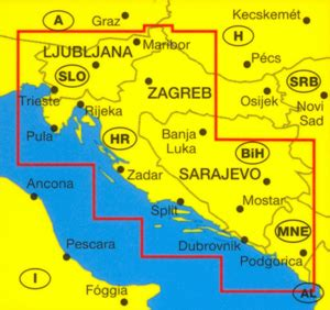 croatia slovenia marco polo map stanfords