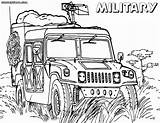 Military Coloring Pages Sheet Getdrawings Vehicles Drawing sketch template